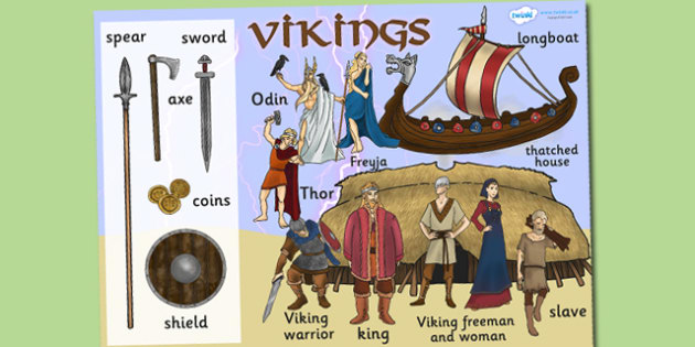 Vikings Display Poster Large - viking, poster, viking display