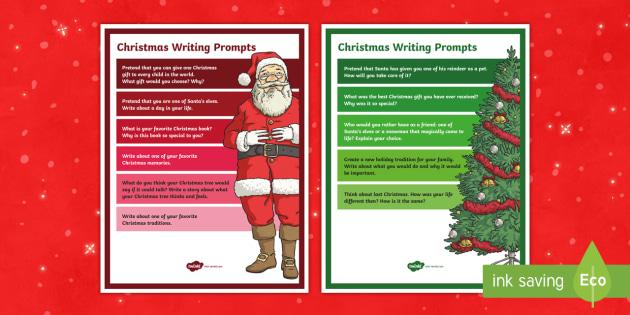 Christmas Writing Prompts.Christmas Writing Prompts Writer S Workshop Ela Writing