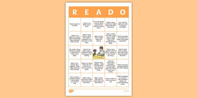 New Zealand 'Reado' Home Reading Worksheet / Activity Sheet, worksheet