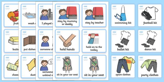 SEN Communication Cards Pack (Boy) - education, home school, child development, communication cards, children activities, free, kids