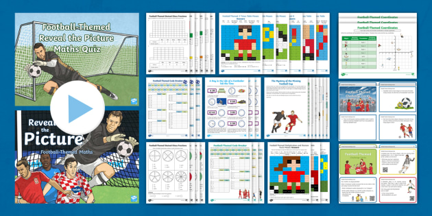 NEW * KS2 The World Cup Football-Themed Maths Activity Pack
