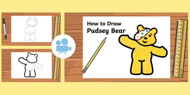 How to Draw Pudsey Animation
