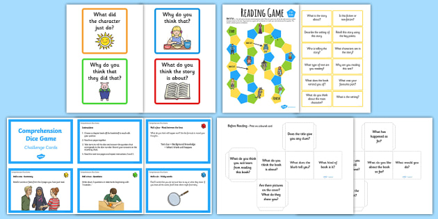 KS2 Reading Prehension Games