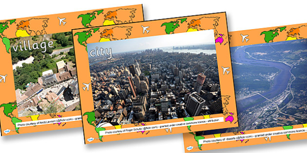 Aerial Photo PowerPoint - aerial, aerial photos, powerpoint, photo powerpoint, geography, aerial view, view from above, birds eye view, aerial powerpoint