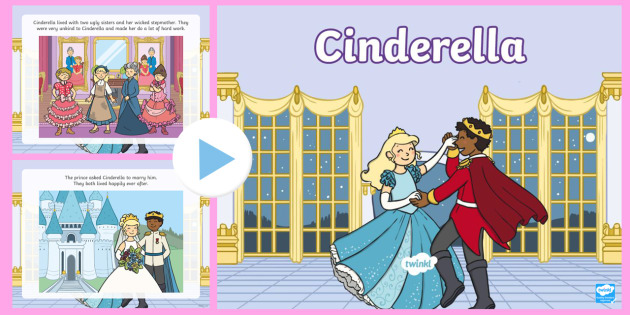cinderella story with pictures pdf