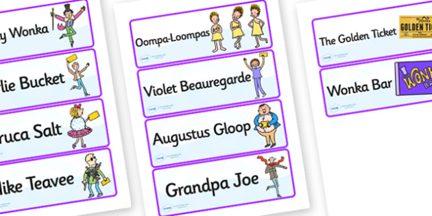 Word Cards to Support Teaching on Charlie and the Chocolate Factory - word cards, charlie and the chocolate factory, chocolate factory word cards, story book, words, cards