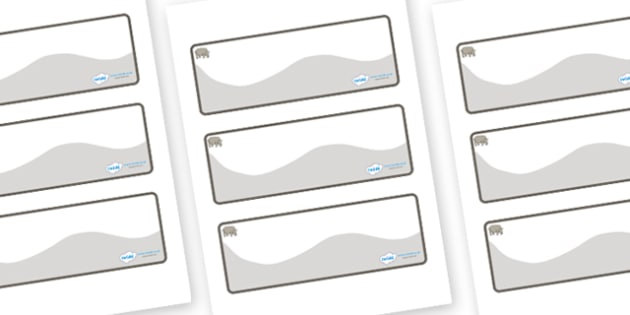 Rhino Themed Editable Drawer-Peg-Name Labels (Colourful) - Themed Classroom Label Templates, Resource Labels, Name Labels, Editable Labels, Drawer Labels, Coat Peg Labels, Peg Label, KS1 Labels, Foundation Labels, Foundation Stage Labels, Teaching La