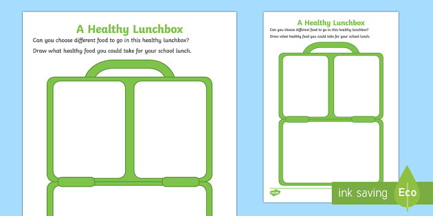 Lunch Box Template