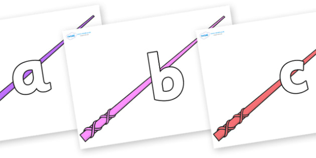 Phoneme Set on Wands - Phoneme set, phonemes, phoneme, Letters and Sounds, DfES, display, Phase 1, Phase 2, Phase 3, Phase 5, Foundation, Literacy