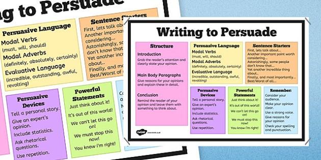 Writing to Persuade Poster - Persuasive, NAPLAN, Australian, Poster