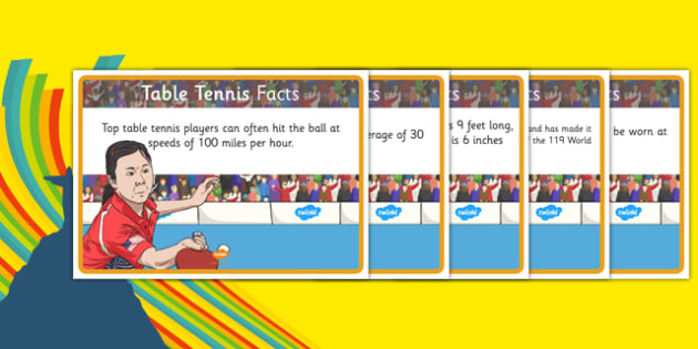 The Olympics Table Tennis Display Facts - the olympics, rio olympics, 2016 olympics, rio 2016, table tennis, display facts