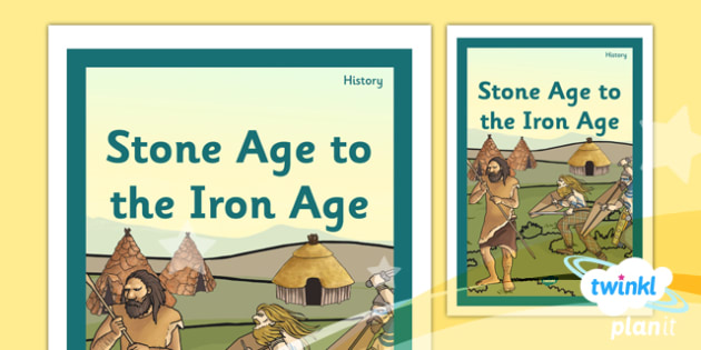 History: Stone Age to the Iron Age UKS2 Unit Book Cover