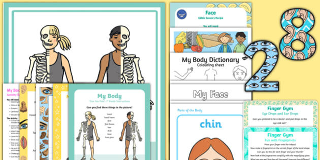 Childminder All About Me and Ourselves: My Body Resource Pack