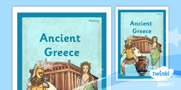 History: Ancient Greece UKS2 Unit Book Cover