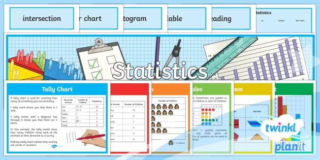 PlanIt Maths Y3 Statistics Display Pack