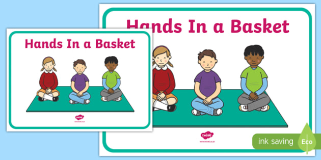 Hands In a Basket Display Poster - hands in a basket, display poster, display, poster