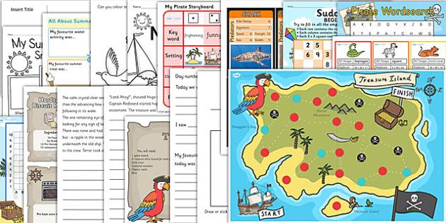 KS2 Summer Holiday Activity Pack - Summer Holiday Ideas
