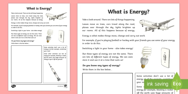 What is Energy? Activity -  - Awesome Energy Energy Electricity Nuclear Heat Chemical Timeline Kinetic Potential STEM