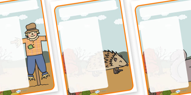 Autumn Themed Target Posters - autumn, autumn themed, target posters, targets, class targets, themed targets, class management, posters, seasons
