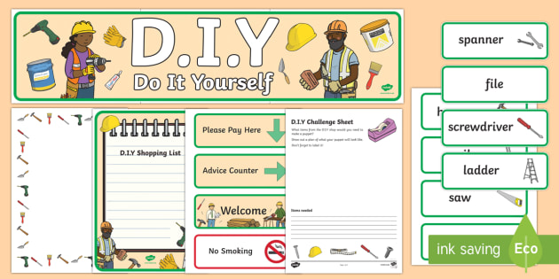 Diy shop role play pack diy role play do it yourself role solutioingenieria Images