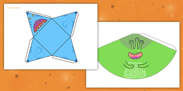 3D Shape Alien Nets - Aliens, Shapes, Activity, Model, Activities