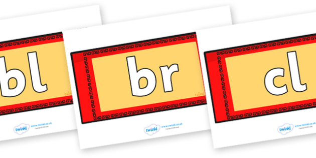 Initial Letter Blends on Chinese Money Wallets - Initial Letters, initial letter, letter blend, letter blends, consonant, consonants, digraph, trigraph, literacy, alphabet, letters, foundation stage literacy