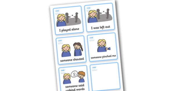 SEN Communication Cards Explanations (Girl) - SEN, communication cards, places, my environment, Visual Timetable, SEN, Daily Timetable, girls, School Day, Daily Activities, Daily Routine KS1