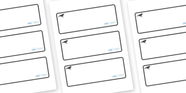 Blackbird Themed Editable Drawer-Peg-Name Labels (Blank) - Themed Classroom Label Templates, Resource Labels, Name Labels, Editable Labels, Drawer Labels, Coat Peg Labels, Peg Label, KS1 Labels, Foundation Labels, Foundation Stage Labels, Teaching La