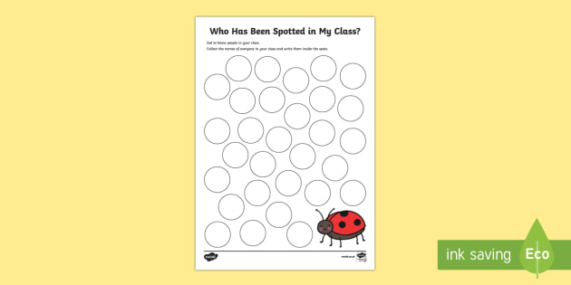 Back to School Ladybird Themed Worksheet / Activity Sheet - Back to School, Australia, worksheet / activity sheet, worksheet, class names, getting to know you, transition,