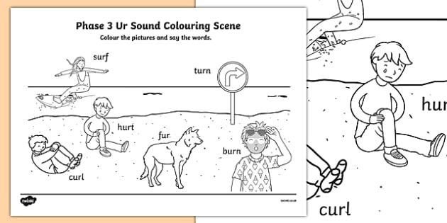 Phase 3 ur Sound Colouring Scene
