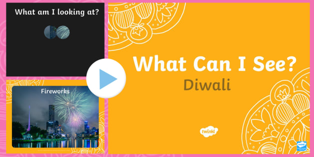 Diwali What Can You See? PowerPoint