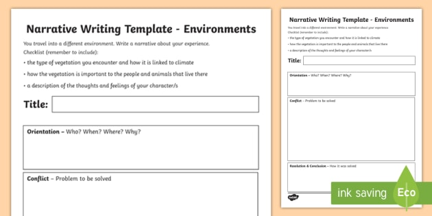 Environments narrative writing template year 4 achassk088 environments narrative writing template year 4 achassk088 australian curriculum geography language pronofoot35fo Gallery