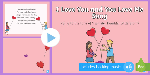 new i love you and you love me song powerpoint eyfs
