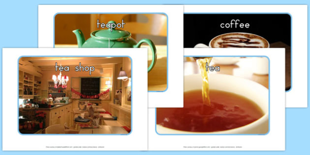 Tea Shop Role Play Display Photos - australia, tea shop, role-play, display photos