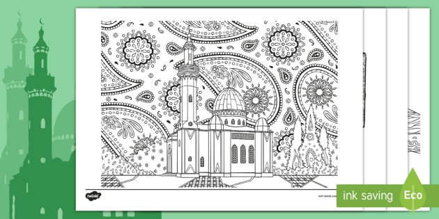 Ramadan Coloring Book Images, Stock Photos & Vectors | Shutterstock | 315x630