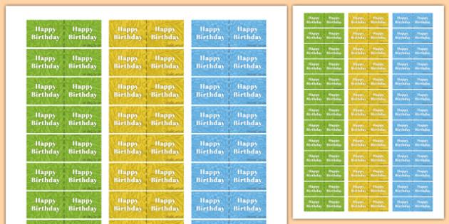 90th Birthday Party Toothpick Flag - 90th birthday party, 90th birthday, birthday party, toothpick flag
