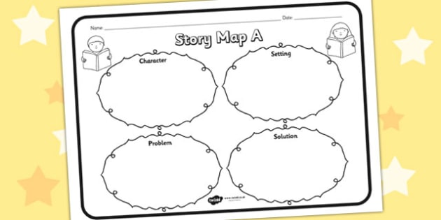Story Map Ks1 Story Map A Worksheet   story map A, story, stories, story map  Story Map Ks1
