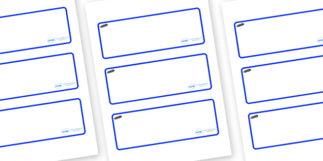 Tadpoles Themed Editable Drawer-Peg-Name Labels (Blank) - Themed Classroom Label Templates, Resource Labels, Name Labels, Editable Labels, Drawer Labels, Coat Peg Labels, Peg Label, KS1 Labels, Foundation Labels, Foundation Stage Labels, Teaching Lab