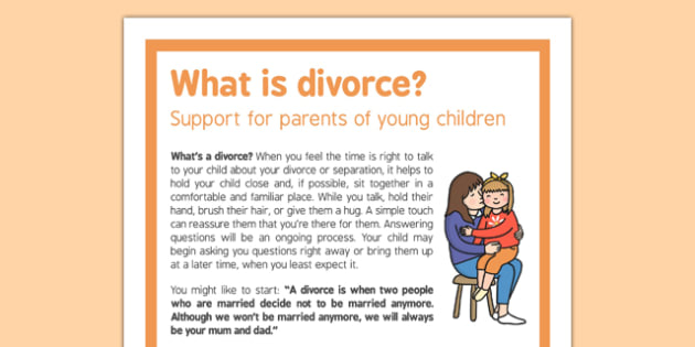 What is Divorce Support for Parents of Young Children - divorce, parents, support, children