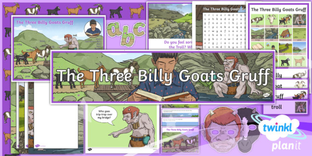 PlanIt Y4 Traditional Tales: The Three Billy Goats Gruff Additional Resources