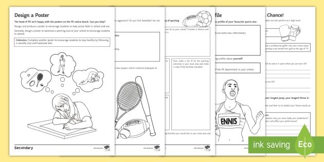 PE Cover Lesson Teaching Ideas - PE, KS3, KS4, Cover ...
