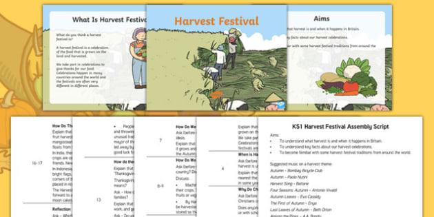 KS1 Harvest Assembly Pack