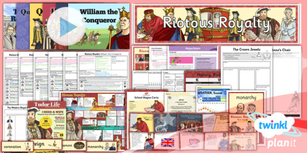 History: Riotous Royalty LKS2 Unit Pack