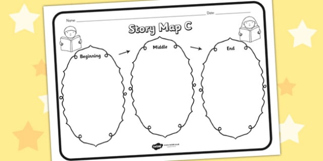 Story Map Diagram | Free Story Map Diagram Templates