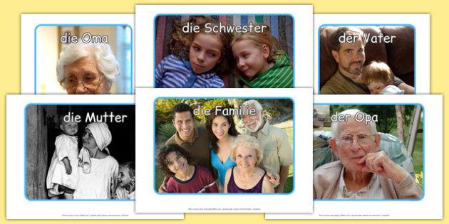 Meine Familie Display Photos German - german, my family, display photos, display, photos, photographs
