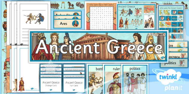 History: Ancient Greece KS2 Unit Additional Resources