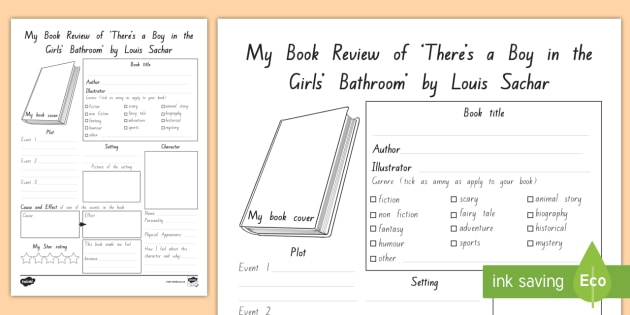FREE! - Term 1 Week 5 Year 5 and 6 Chapter Chat Book Review ...