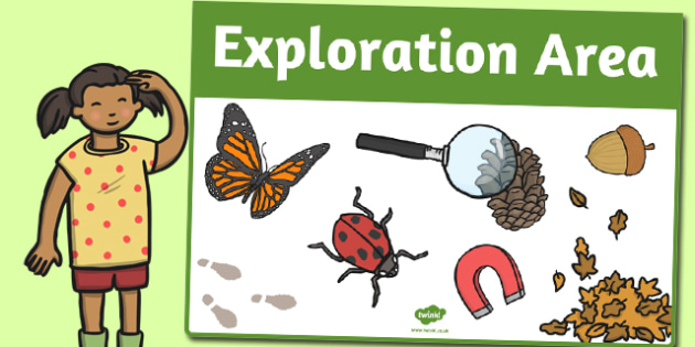 Exploration Area Sign - area, sign, area sign, exploration