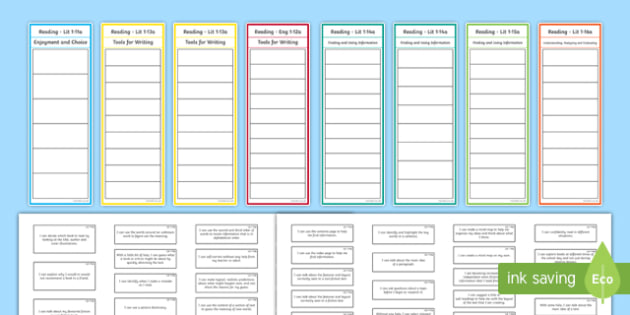 CfE First Level Reading Assessment Bookmark - cfe, first level, reading, assessment, bookmarks, assess, first