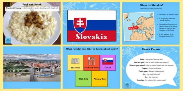 Slovakia Information PowerPoint - slovakia, information, info